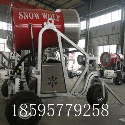 包头能耗低体积小造雪机 诺泰克人工造雪机生产厂家
