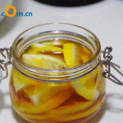 制作蜂蜜柚子茶的步骤