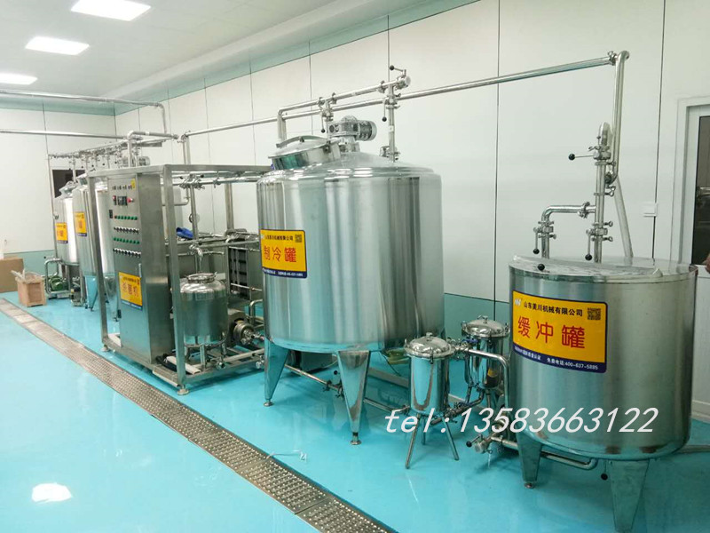 牛奶生产线,酸奶生产线,小型牛奶加工设备