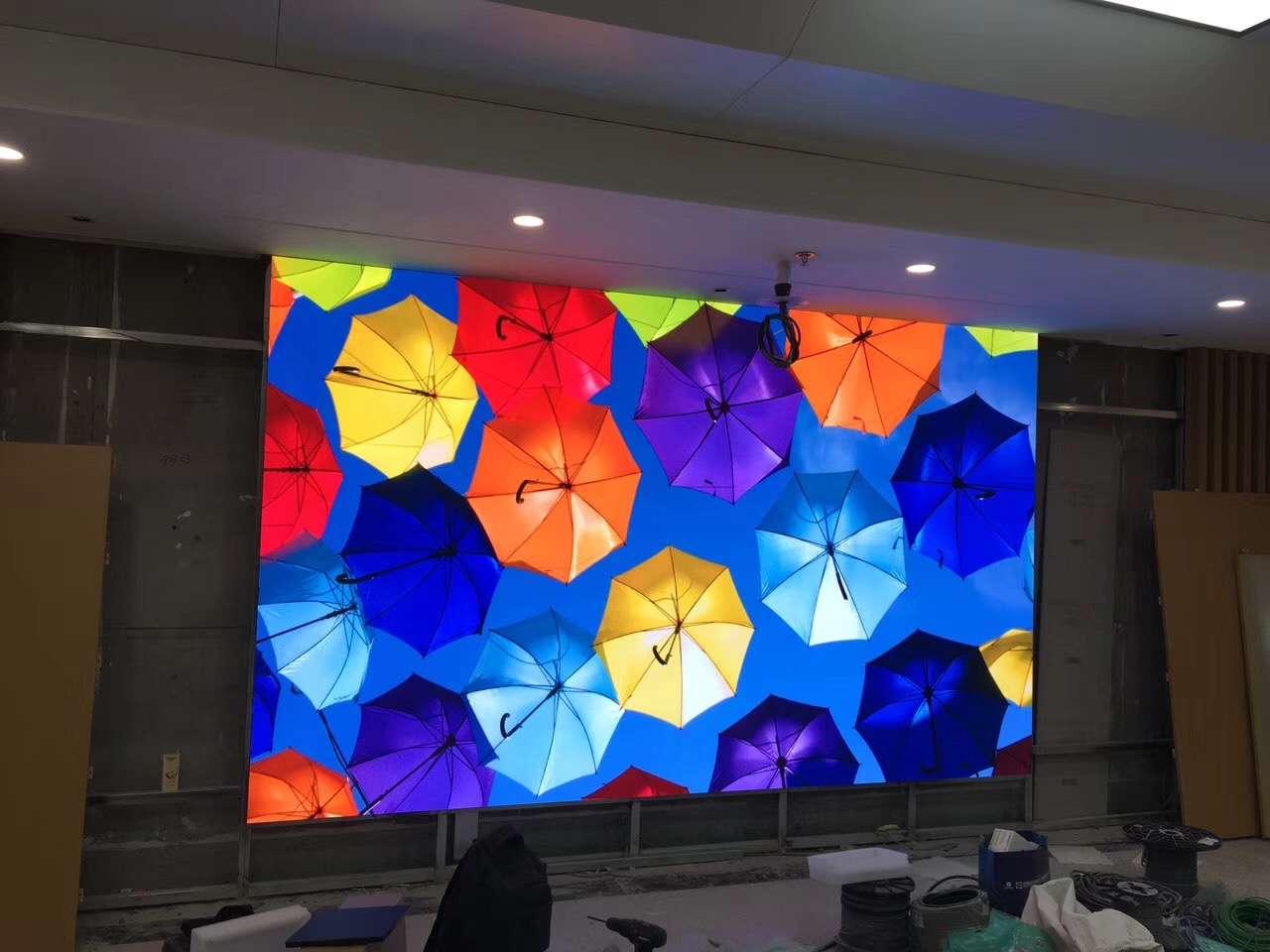 室内全彩p1.875小间距LED显示屏