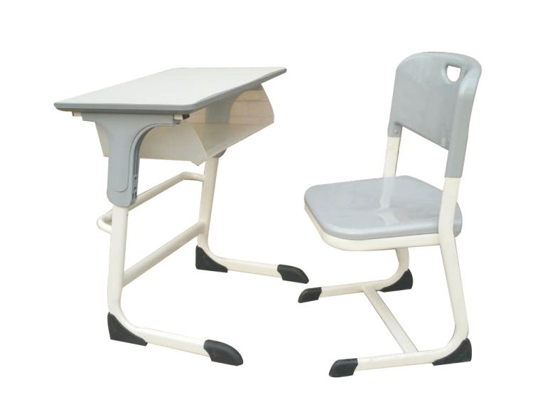 现代新型升降塑钢课桌椅使用特点