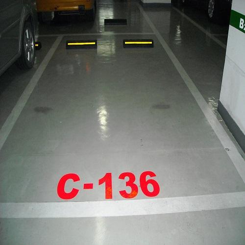北京京凯腾达车位划线 北京天津河北车位划线