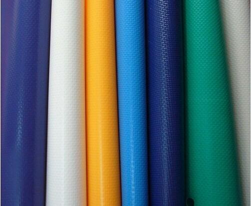 PVC帐篷夹网布