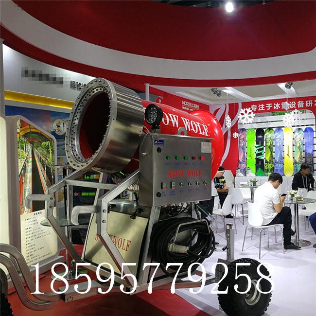 造雪机特点 造雪机优势  大型国产造雪机一小时能造多少雪