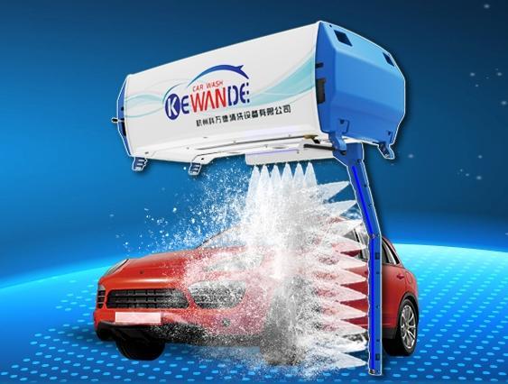 无接触洗车机 杭州科万德全自动无接触洗车机品牌厂家