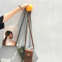 韩版新款迷你手机包长款多隔层零钱包手拿单肩斜跨包