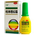 三金桂林西瓜霜喷剂3.5g口腔溃疡咽喉肿痛 慢性咽炎喷雾剂