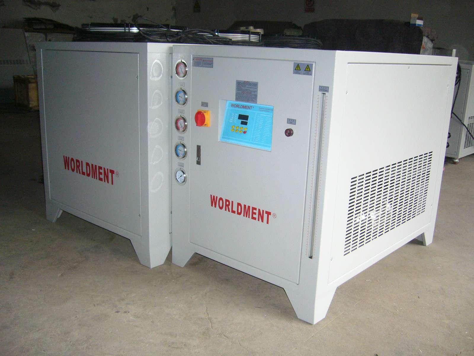 分体风冷式精密工业冷冻水循环冷水机