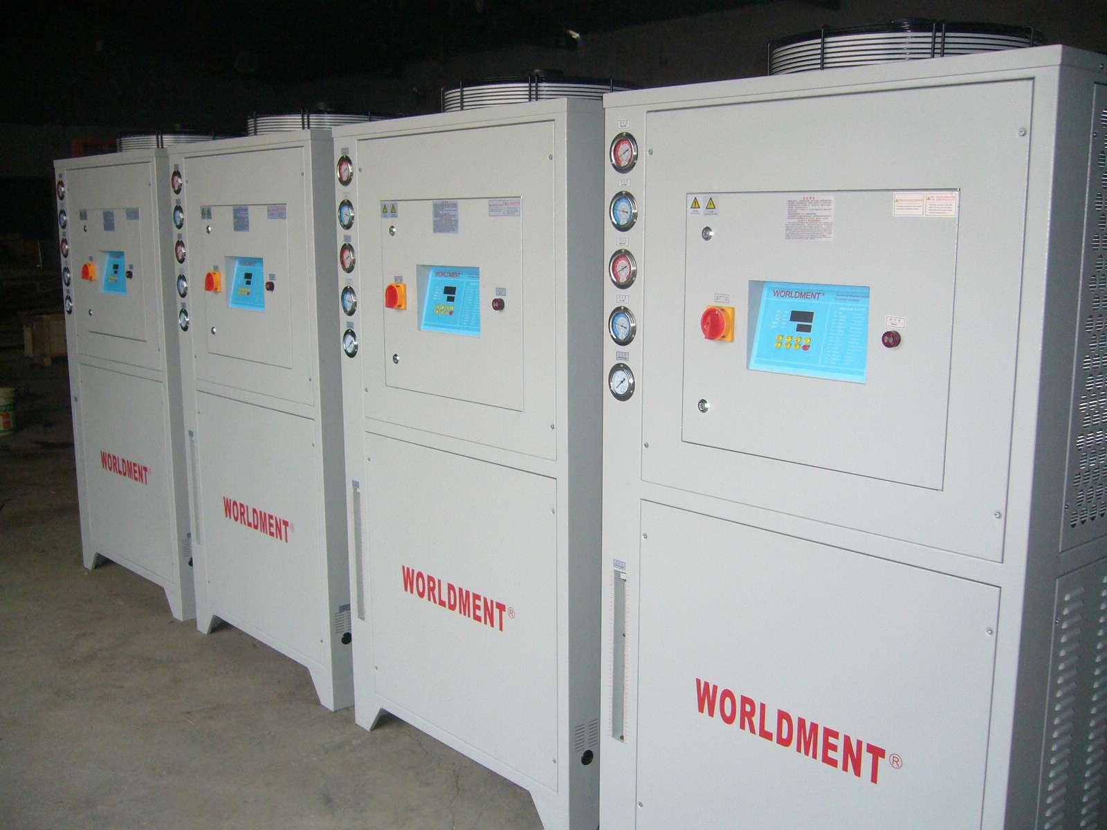低温风冷式精密工业冷冻水循环冷水机组