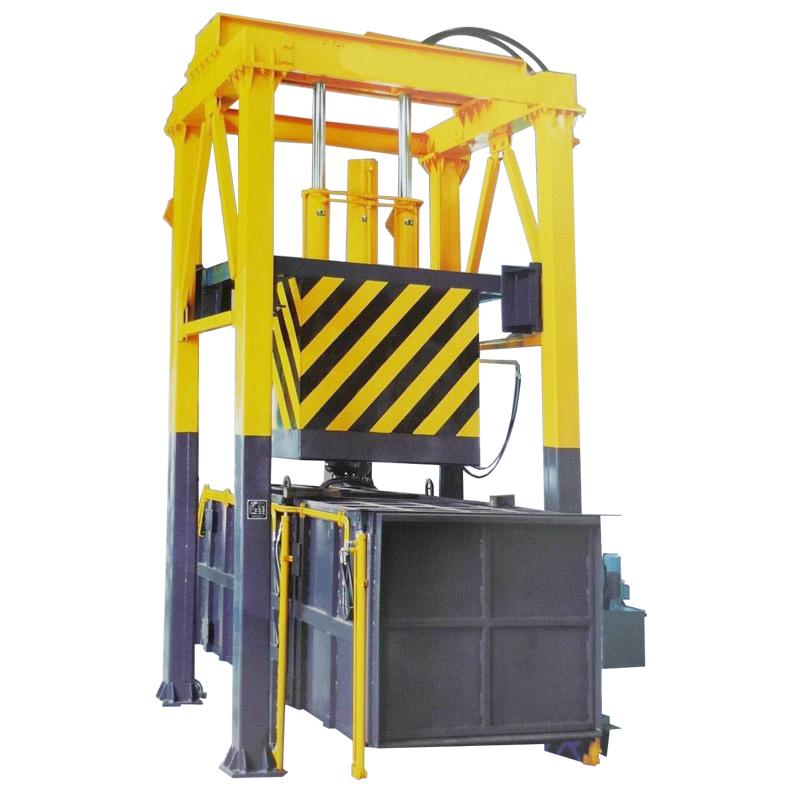 垂直式垃圾压缩机 垃圾中转站厂家 价格