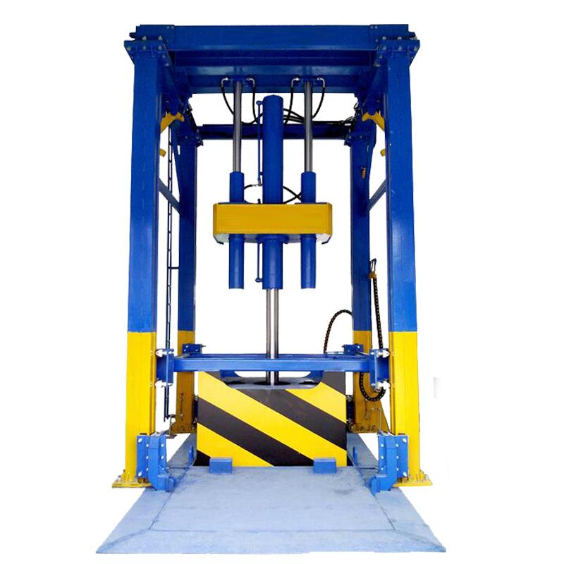 垂直式垃圾压缩站设备 垃圾中转站设备 报价