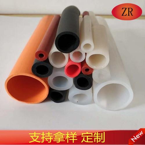 电子器械高透明高温连接彩色硅胶管橡胶管