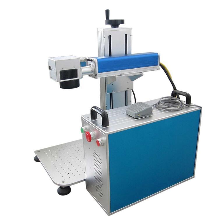 紫外便携式激光打标机 摆摊神器镭雕机 塑料玻璃水晶激光刻字机